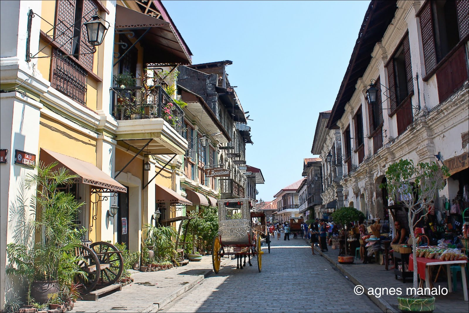 Image of Calle Crisologo, a street most photographed by tourists -localand foreign
