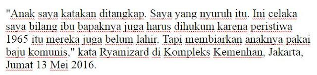 Mantap Jendral ! Sikat Saja Semua PKI Di Indonesia , Menhan: Orangtua Anak Pemakai Kaus PKI Pengecut! - Naon Wae News