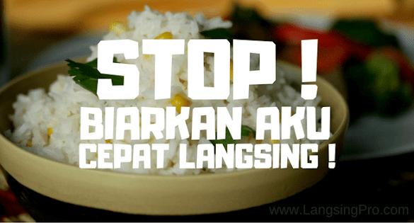 Berhenti Makan Nasi Cepat Langsing: Gagal Jika Kamu Melakukan Ini!