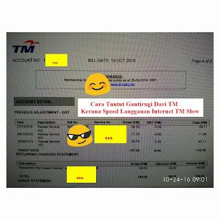 Tuntut Duit Balik Dari TM