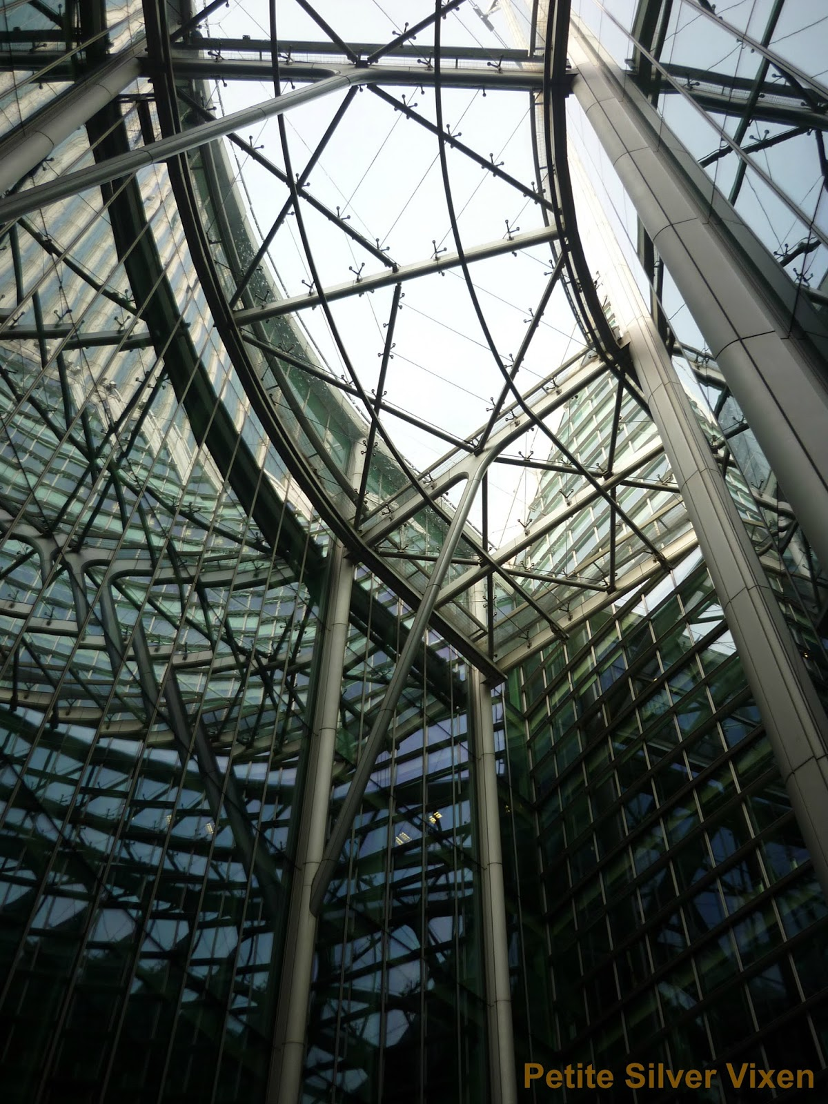 View of City of London Buildings | Petite Silver Vixen