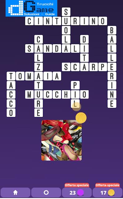 Soluzioni One Clue Crossword livello 25 schemi 9 (Cruciverba illustrato)  | Parole e foto
