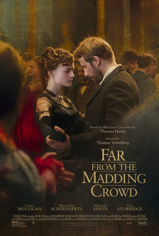 Far From the Madding Crowd 2015 film poster