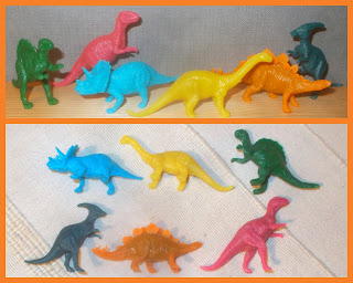 Blister Pack; Dinosaur Models; Dinosaur Novelties; Header Card; Made in China; Novelty Toy; Plastic Figurines; Plastic Toys; Small Scale World; smallscaleworld.blogspot.com;  2 Home Collection Perfect Moments Six Dinosaurs Poundland Anker Group Plastic Toy Animals 001
