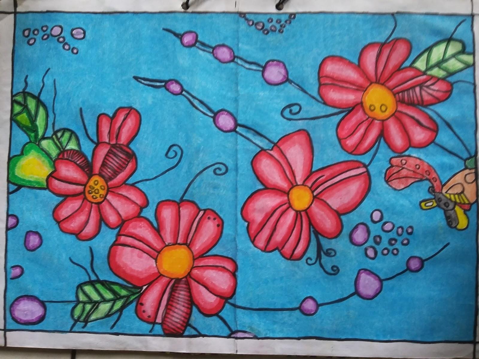 84 Gambar Ragam Hias Geometris Flora Terlihat Keren