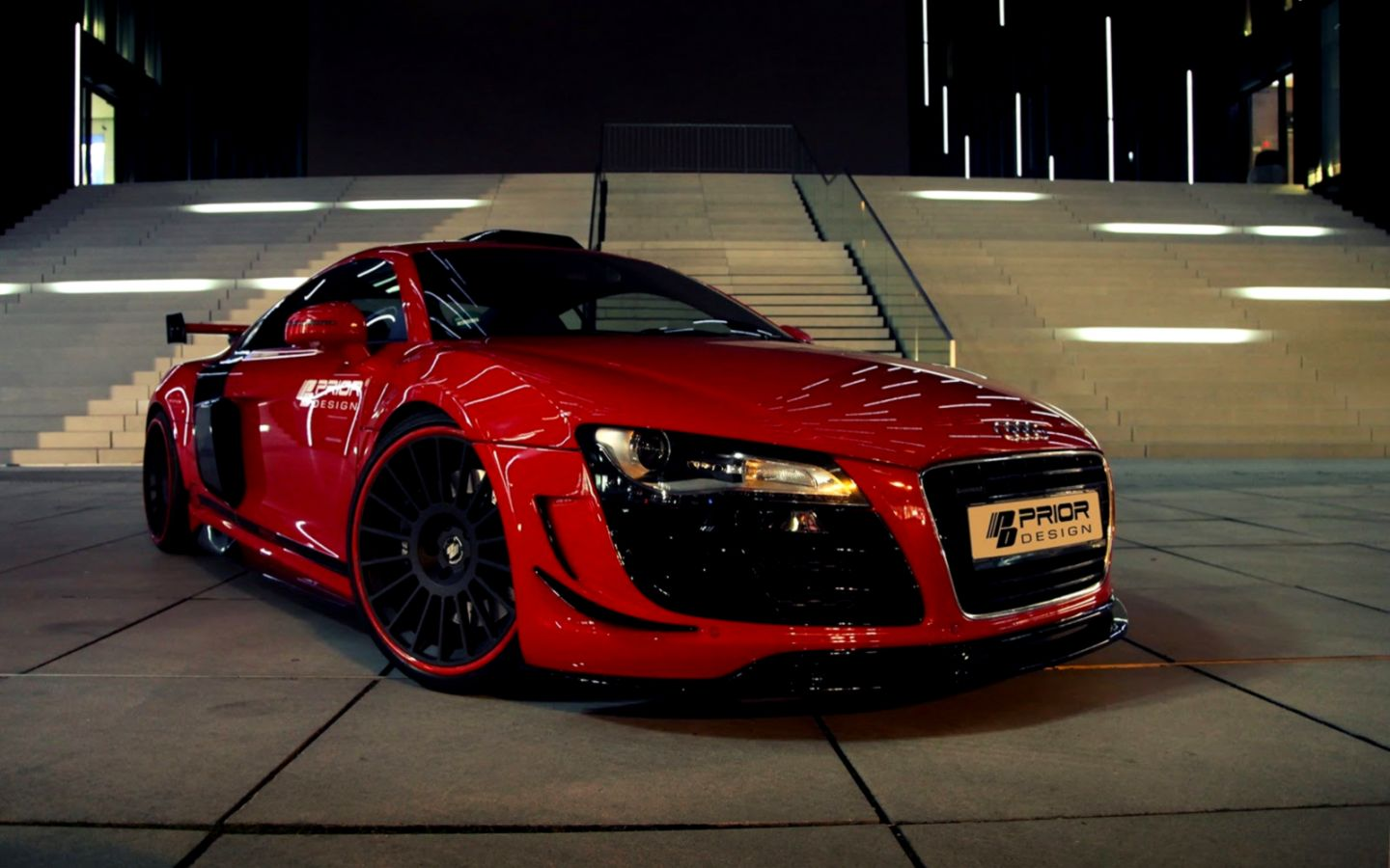 Red Audi R8 Hd Wallpaper Wallpapers Arena