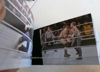 Interior Libros WWE