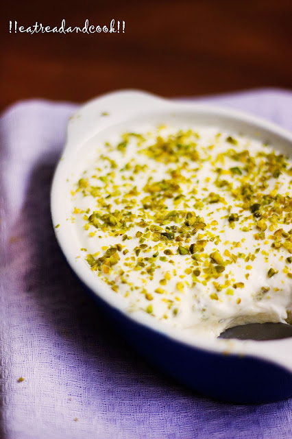 how to make Layali Lubnun Lebanese Dessert recipe and preparation