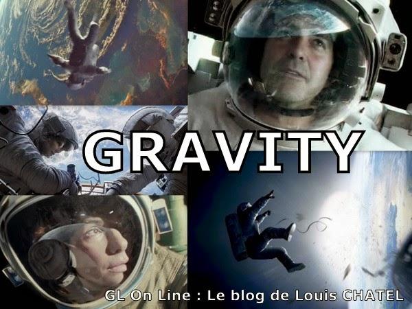 Mosaïque à partir de photos du film Gravity