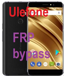 Ulefone S8 Pro frp bypass and google account reset