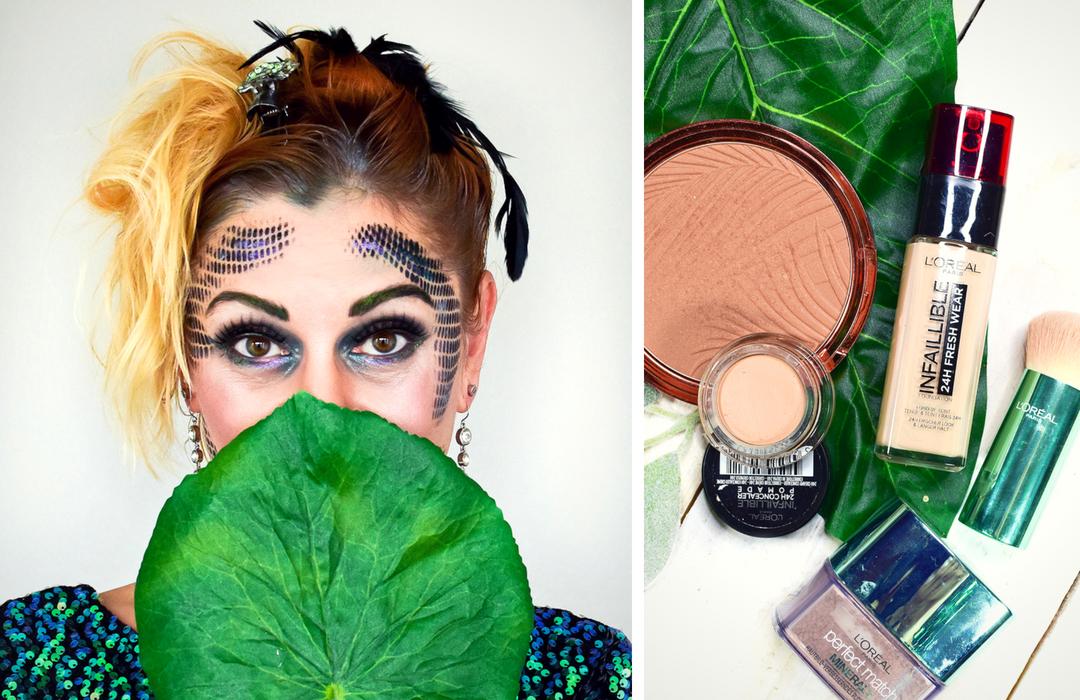 Tutorial für ein einfaches Halloween Make Up, Faschings Make Up