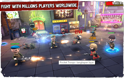 Download gratis Pocket Troops Apk Data Terbaru