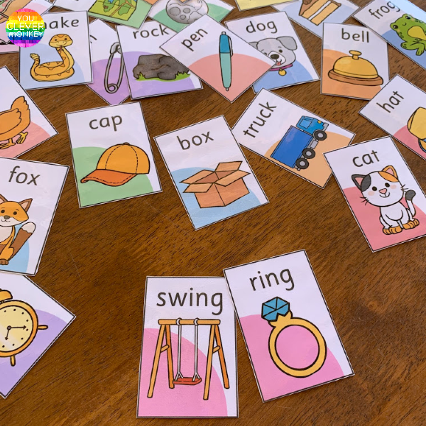Pick A Partner - Rhyming Words Pack | you clever monkey