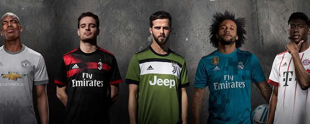 Model Jersey sepak bola untuk olahraga terbaru