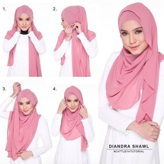Inilah Kreasi Tutorial Hijab Simple yang Paling Populer