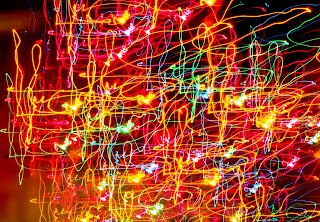 colourful lights abstract