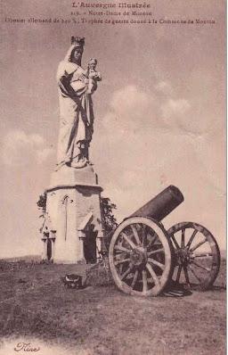 Notre Dame de Monton, la Vierge, le canon.