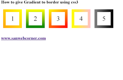How-to-give-gradient-to-border-using-css
