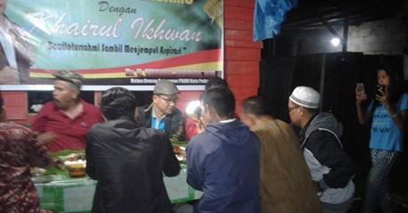Maju di Pilkada Padang, Khairul Ikhwan Mulai Jamah Akar Rumput