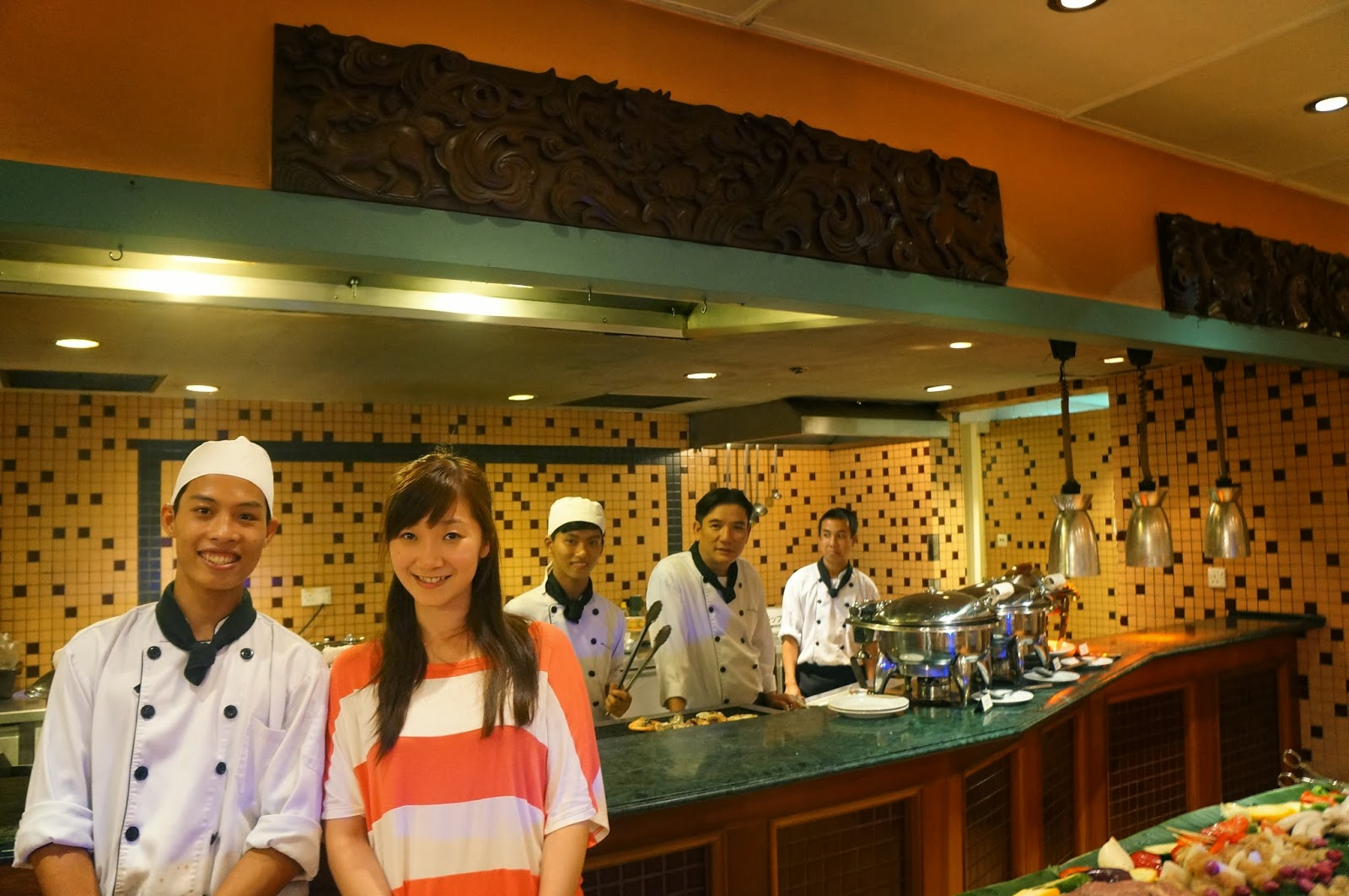 MissJu旅行日記: 越南峴港 五日四夜之旅-第一天 Furama Resort Danang 有驚喜的海鮮自助餐