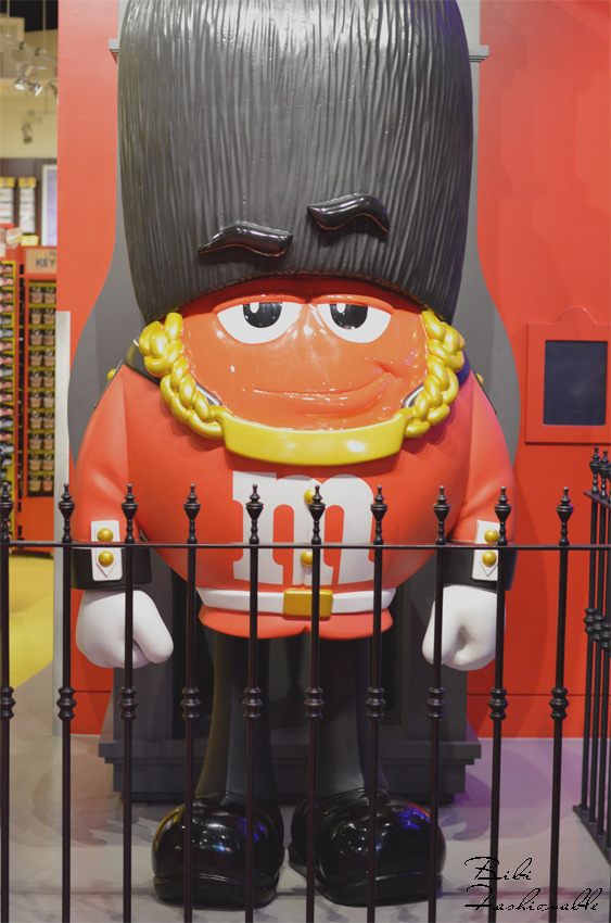 M&M Guard at M&M World London