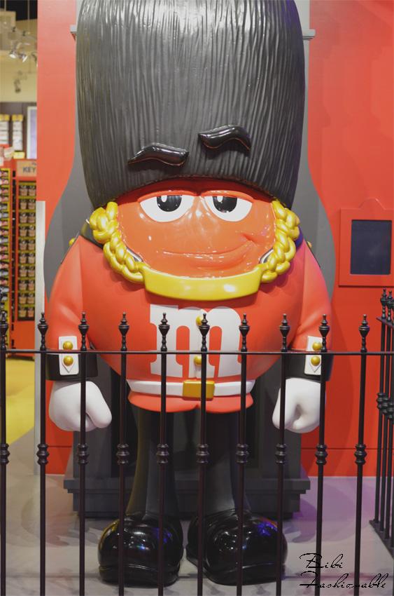 M&M Guard at M&M World London
