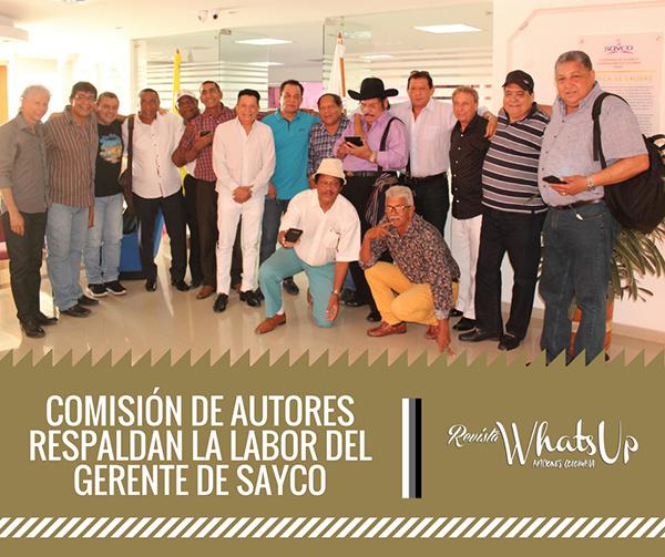 Comisión-autores-respaldan-labor-Gerente-SAYCO