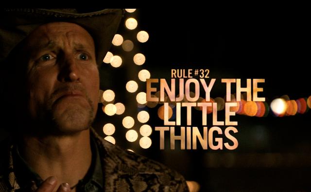 Zumbilândia Regra 32: Aproveite as pequenas coisas