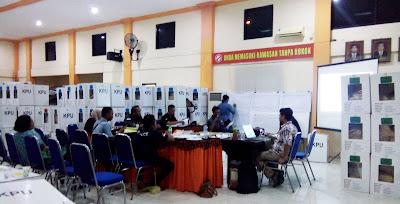 Ini Hasil Sementara Real Count KPU, PDI Perjuangan Kota Mojokerto Unggul
