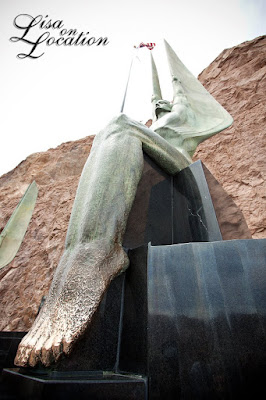 Hoover Dam statue New Braunfels photography