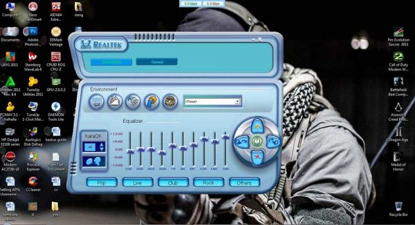 How to Activate Realtek Sound Equalizer on Windows 7 | D-Install