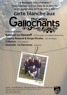 Les Gallochants invitent Caliorne