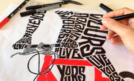 Dibujo, caligrafía y arte de Daniele Tozzi