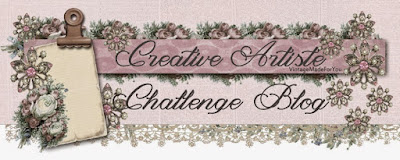 Creative Artiste Mixed Media Challenge Blog