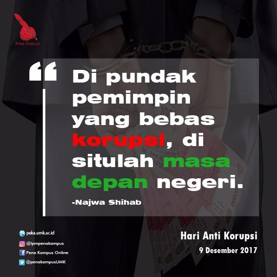 Kapan Korupsi (bisa) berhenti?