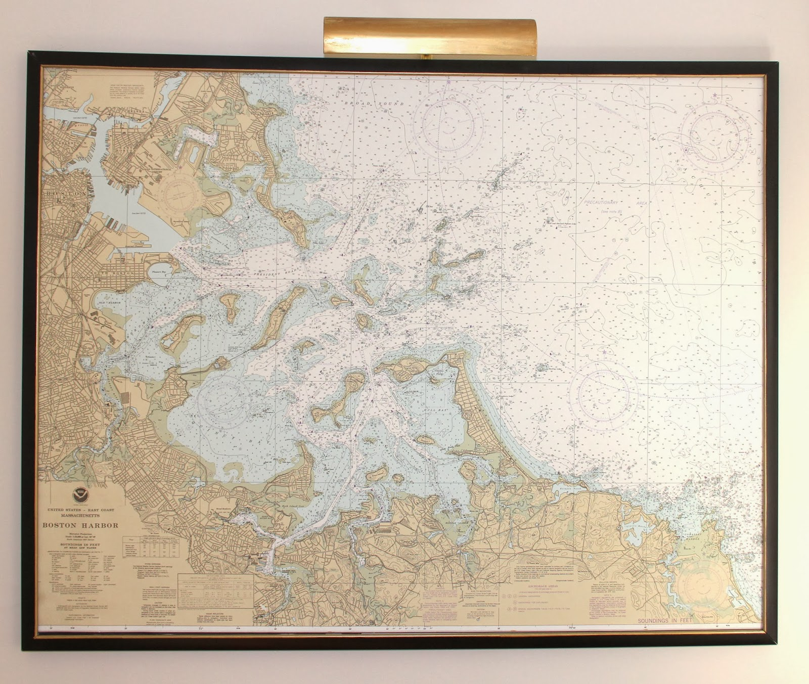 How To Mount and Frame a Large Map - Shine Your Light Map Insulation on