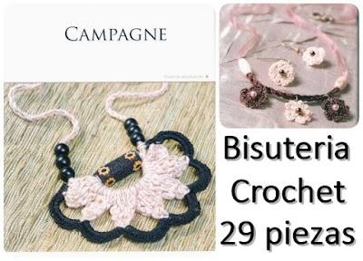 29 piezas de Bisutería a crochet impresionantes
