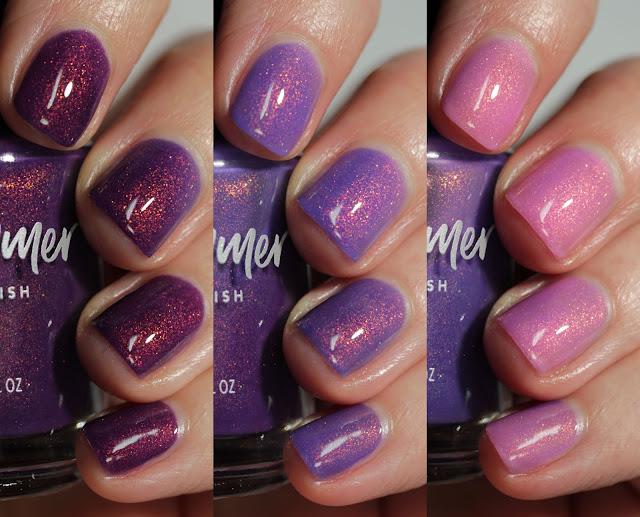 KBShimmer Reel Good Time swatch by Streets Ahead Style