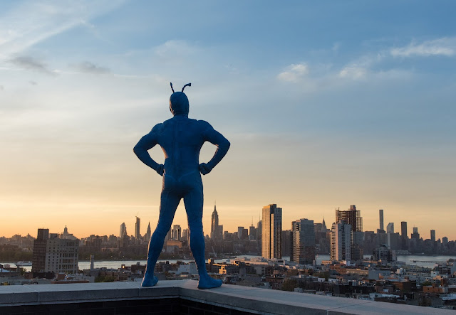 Peter Serafinowicz's The Tick is coming!