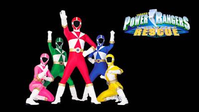Phim siêu nhân Power Rangers Lightspeed Rescue