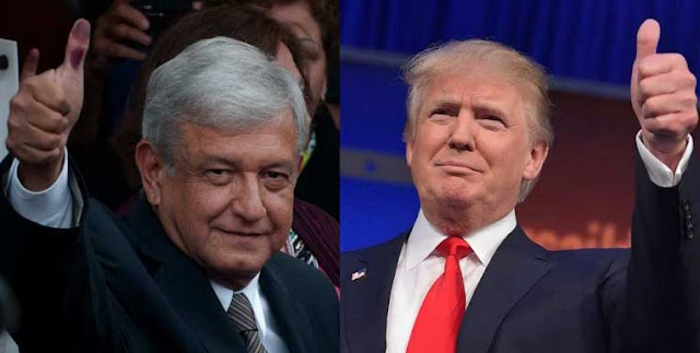 El huracán Trump sopla en favor de López Obrador