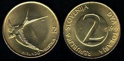 Slovenia km5 2 Tolarja (1992-1997) 1996