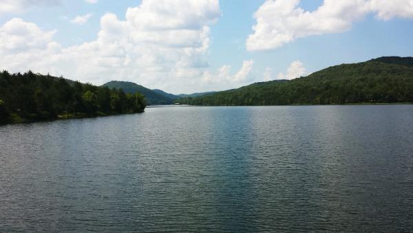 Lake Leatherwood Dam in Eureka Springs, Ar