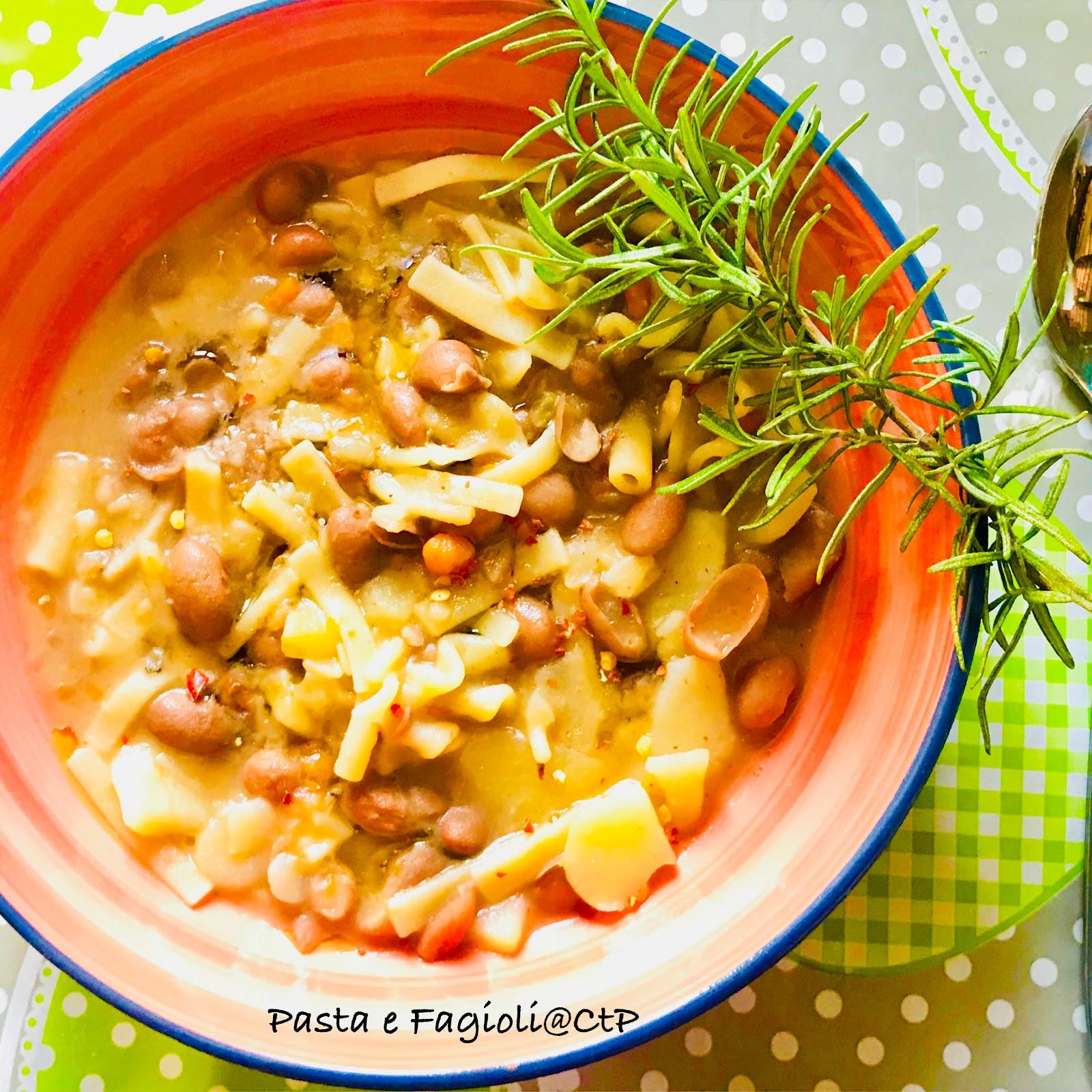 Pasta e fagioli e patate Alessandra ruggeri