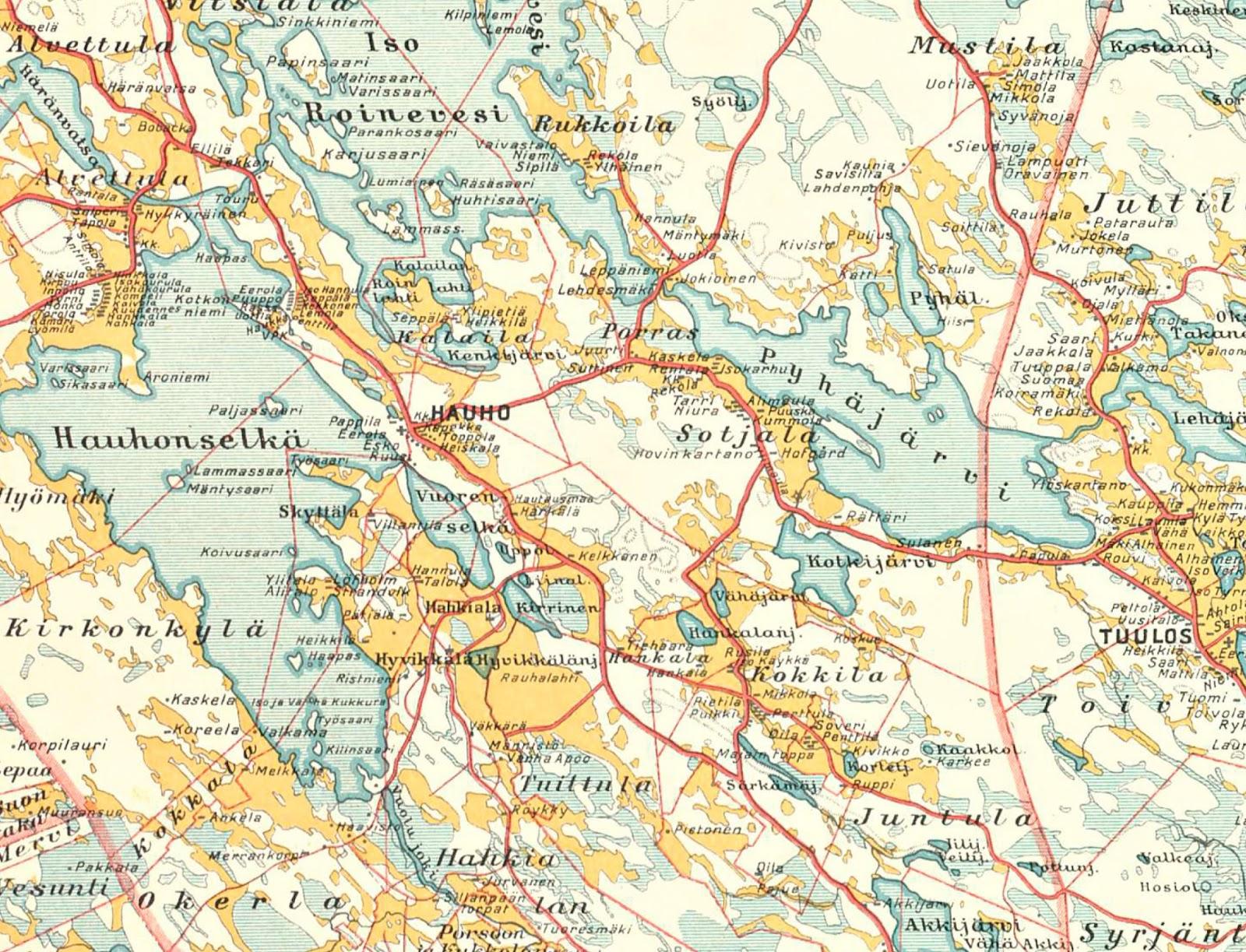 Kapinanaikaan Hauholla 17 Helmikuuta 1918