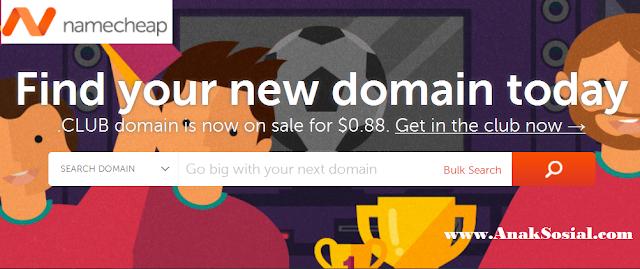 Domain murah dibawah 1 dollar