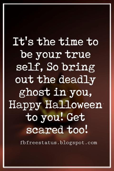 Halloween Greetings Card Messages Wishes