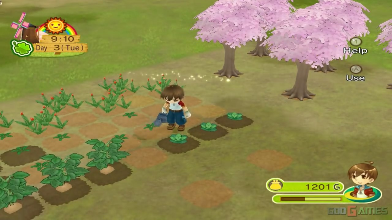 download game harvest moon animal parade iso