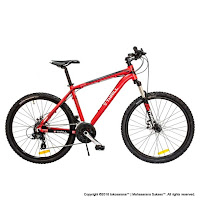 Sepeda Gunung Thrill Cleave Gent 1.0 26 Inci Red
