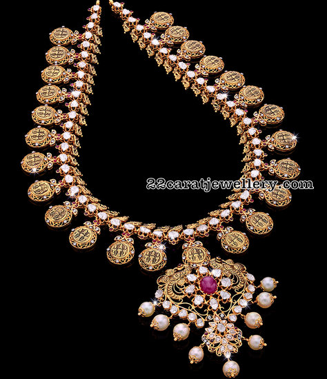 Polki Ramparivar Set by Krishna Jewels